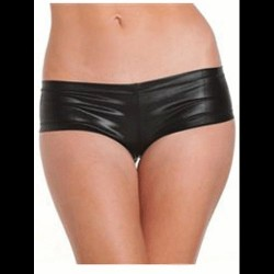 PANTS WETLOOK 4472 COLOR NEGRO TALLA S-L