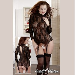 BODY-LIGUERO SEMITRANSPARENTE 4534 TALLA S-XL