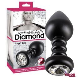 DIAMOND ANAL PLUG GRANDE 7690