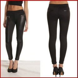 LEGGINGS WETLOOK 8216 TALLA XL