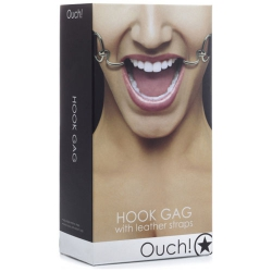 OUCH MORDAZA HOOK COLOR NEGRO 8388