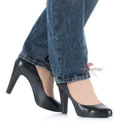 PUMPS ITALIANOS DE CUERO HIGHEST FEELING TALLA 44